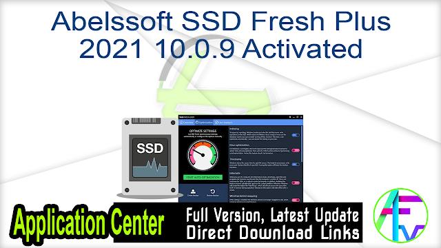 Abelssoft SSD Fresh Plus 2021 10.0.9 Activated