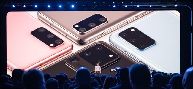 Samsung Galaxy S20 Colorways