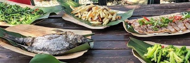 Things to eat in Taiwan: aboriginal feast at Cidal Hunting School near Hualien