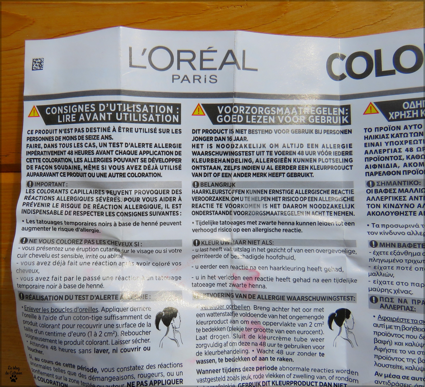 notice Colorista Washout L'Oréal #redhair