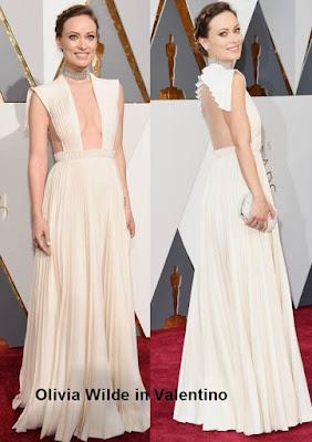 Olivia%2BWilde%2Bem%2Bmodelo%2BValentino - Look Óscares 2016