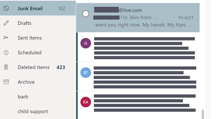 Mengapa Kamu Mendapatkan Pesan Spam Dari Alamat Email Kamu Sendiri?