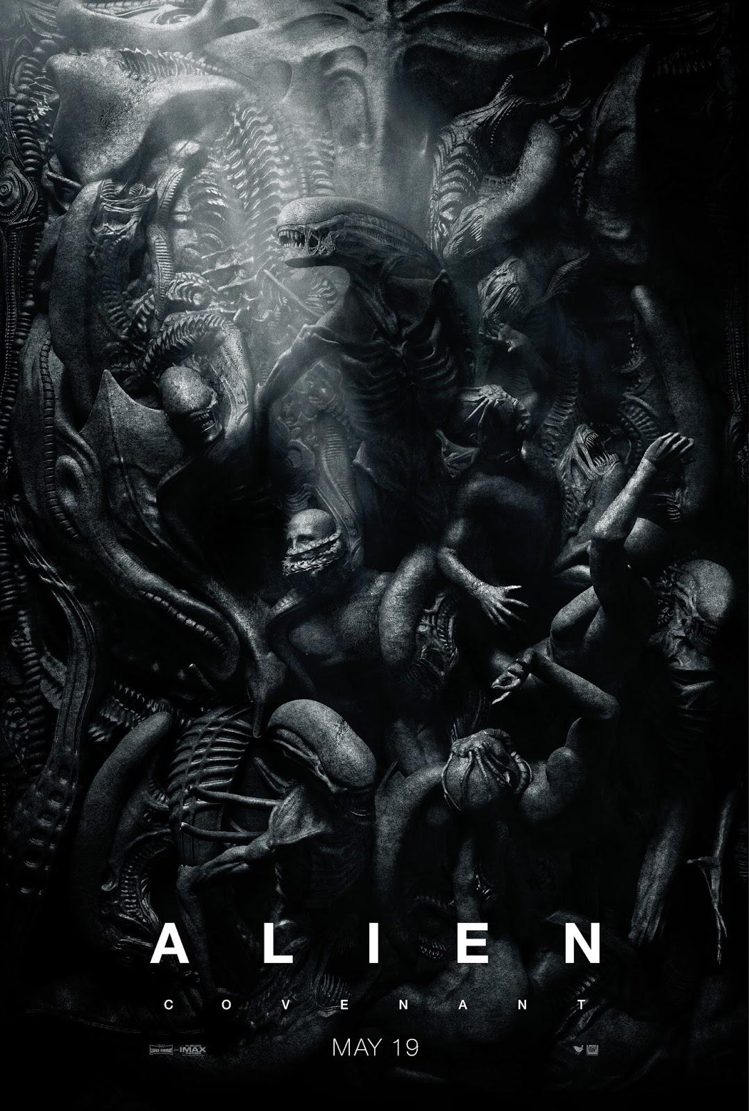 Чужой Завет, Alien Covenant, Чужой, Alien, SciFi, фантастика, Horror, ужасы, хоррор, постер, poster