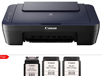 Cara Mengatasi Printer Canon E400 Blink 7x Error 5B00