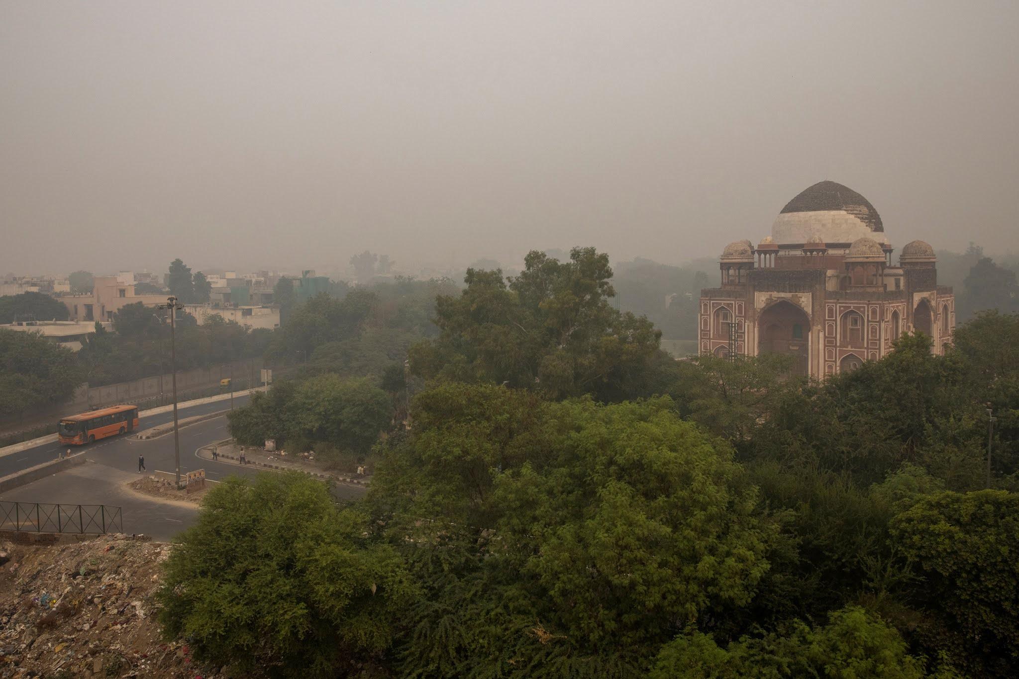 Polusi Udara Memburuk, Harapan Hidup Warga India Hanya 40%
