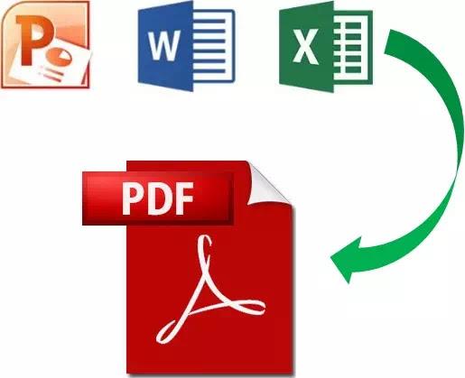 Membuat PDF dengan menggabungkan beberapa file