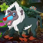 Games4King Green Monkey Escape