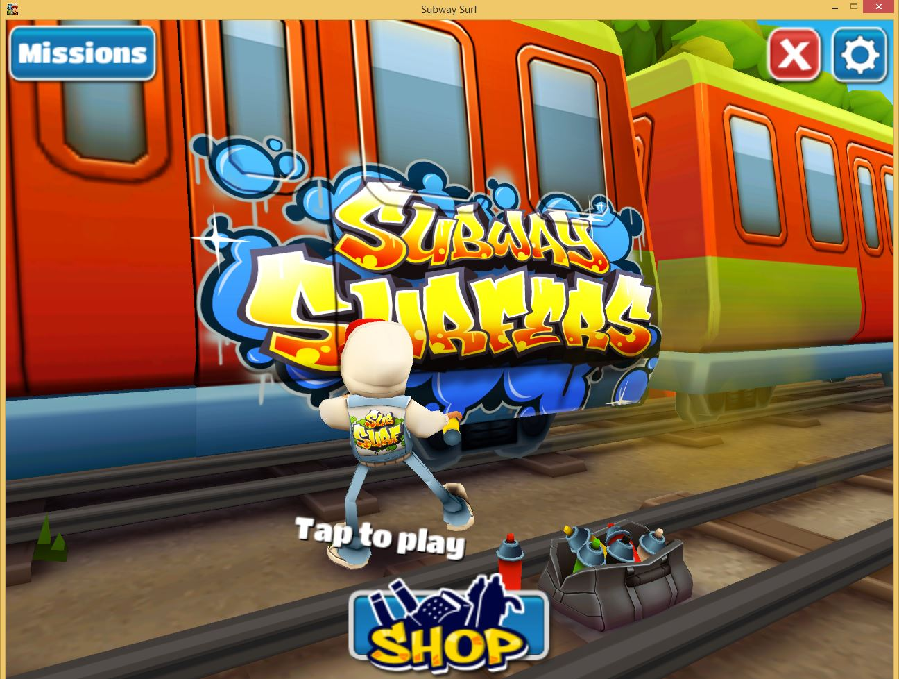 Subway Surfers Rio Game