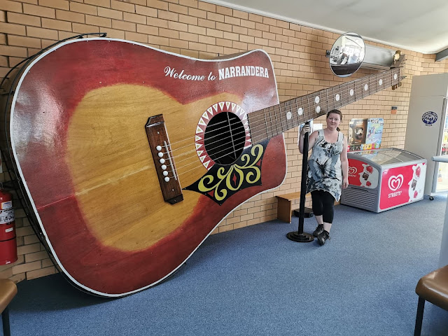 The BIG Guitar in Narrandera