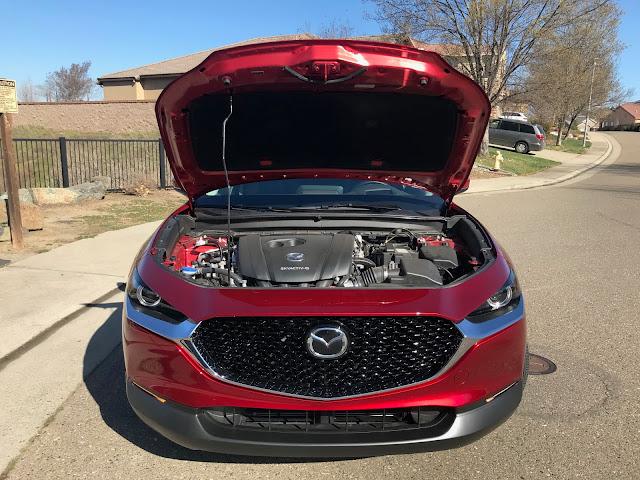 Hood up on 2020 Mazda CX-30 AWD Premium