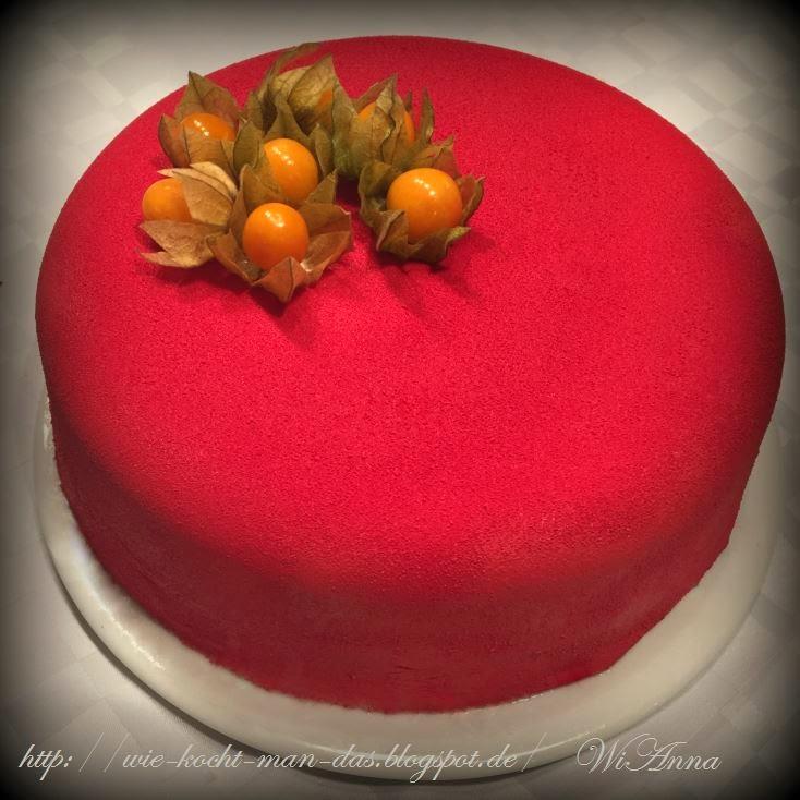 Hier Wird Mit Liebe Gekocht Rote Beeren Torte