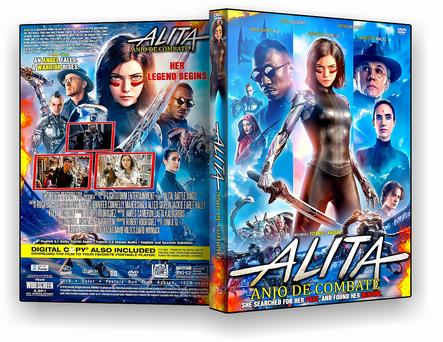DVD - Alita Anjo de Combate - ISO