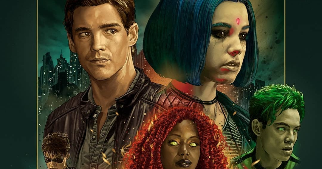 The Blot Says...: SDCC 2019 Exclusive Titans Season 2