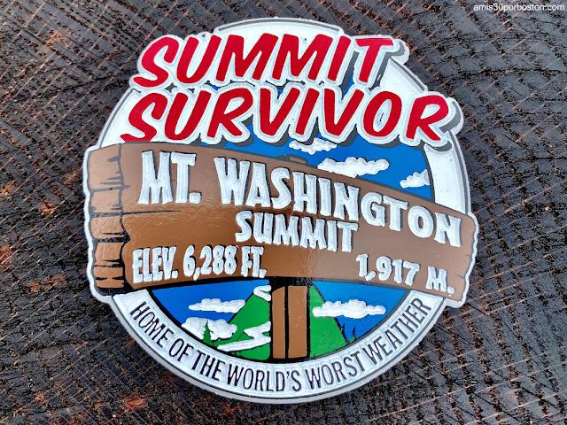 Imán de la Cima de Mount Washington
