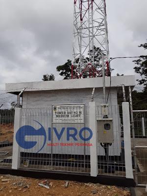 Pagar Tower BTS Murah Harga Pabrik