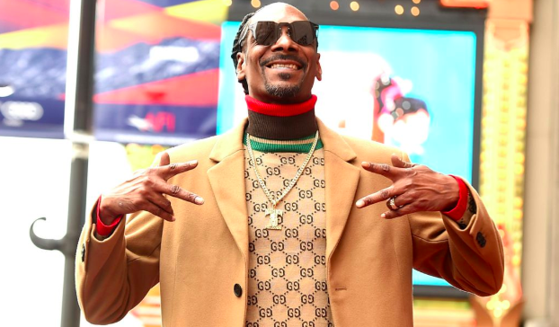 rapper Snoop Dogg thanks himself as he gets star on Hollywood Walk Of Fame