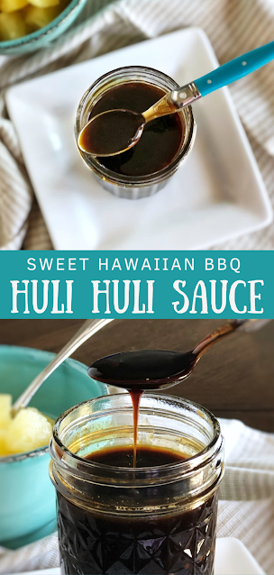 Sweet Hawaiian Barbecue Sauce (Huli Huli Sauce)