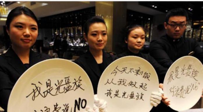 'Kampanye Piring Bersih' Restoran China Diprotes Banyak Orang