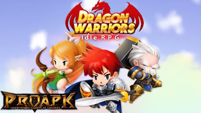 Dragon Warriors : Idle RPG APK Mod Unlimited All Terbaru