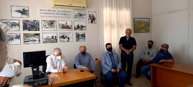 Αργολίδα: Επαφές με τους συνεταιρισμούς Ήρας, Ινάχου και Κουρτακίου είχε ο Πρόεδρος του ΕΛΓΑ