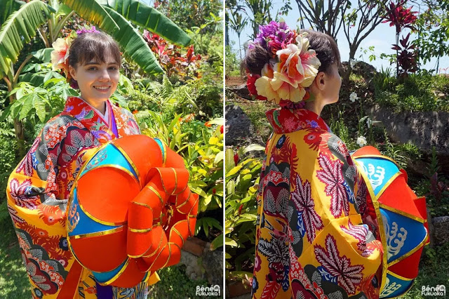 Okinawa kimono experience, Miyakojima