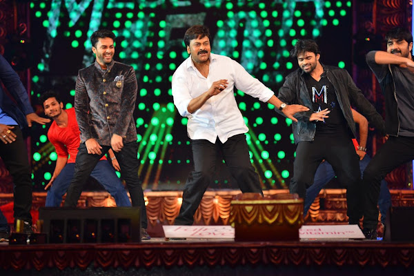 chiru dance at cine maa awards