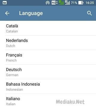 Mengganti Bahasa Indonesia Di Telegram