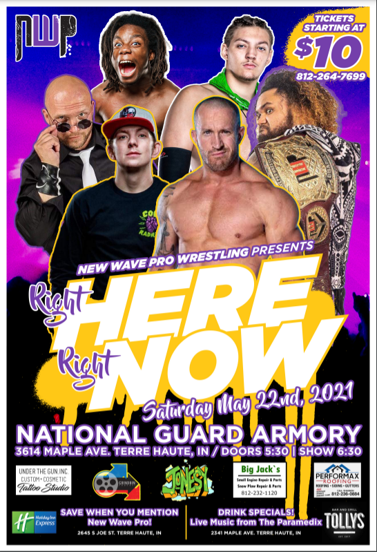 """Indie Spotlight: New Wave Pro """"Right Here, Right Now"""" Preview"""