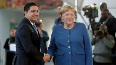 الدق تم.... لطي صفحة الخلاف مع المغرب لمانيا تضحي بإسبانيا في برلين ...
