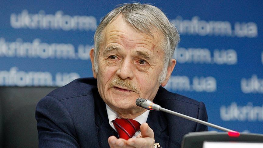Крымскотатарский лидер Мустафа Джемилев
