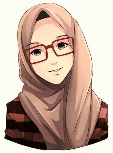 Karun muslimah cantik berkacamata