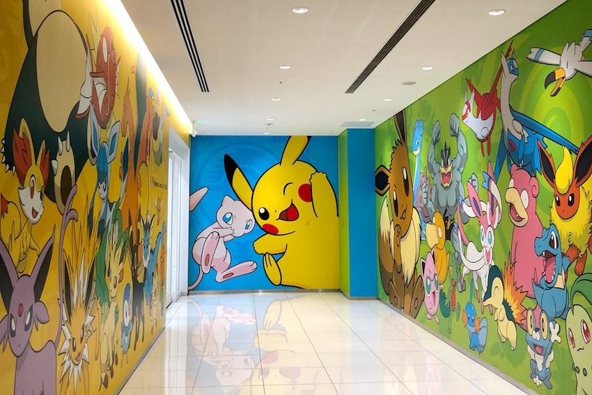Eingang Pokemon Center DX Tokyo