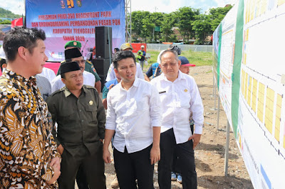 Wagub Jatim Sebut Pembangunan Pasar Pon Hasil Jerih Payah Bersama Bupati Nur Arifin