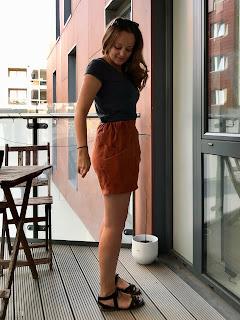 Paprika Linen Palisade Shorts