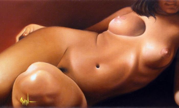 Ricardo Casal. Женщины в работах художника 17