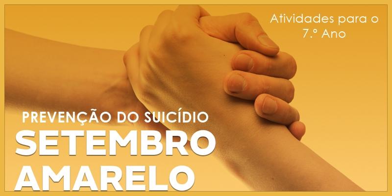 Prevenção do Suicídio: Setembro Amarelo - Língua Portuguesa