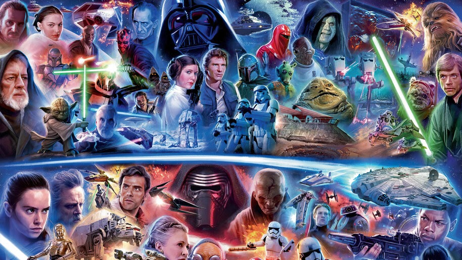 Star Wars, All, Characters, Art, 4K, #7.724