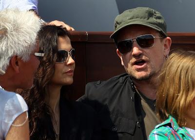 Bono y familia en Monte Carlo 2011