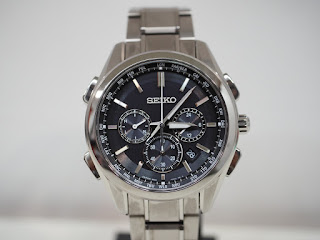 セイコーブライツ ソーラー充電式電波腕時計 SAGA197をお買い取り致しました
