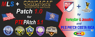 PES2016 MLS & CONCACAF Patch V1.0 for PTEPatch 5.1 byHarleyGnr&JesusHrs&P.P.CostaRica