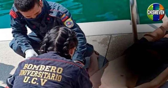 Encuentran cadáver flotando en la piscina de la Universidad Central de Venezuela