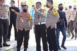 Ahmad Luthfi Cek Pospam Penyekatan Ops Ketupat Candi 2020 di Tol Kalikangkung