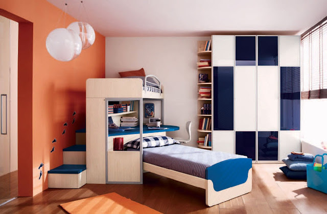 Colorful Teen Boy Bedroom Inspiration
