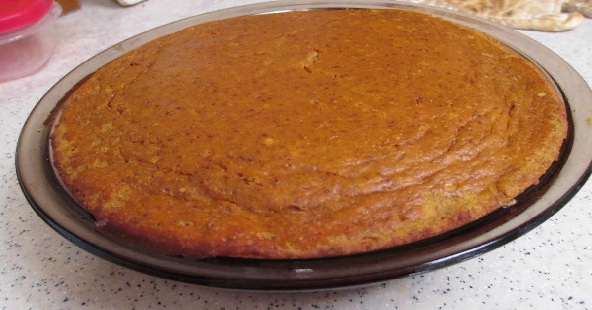 Nothin' Fancy: Low Calorie Pumpkin Pie Recipe - 3 Smart Points