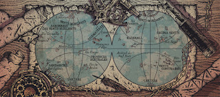 carte du monde Steam Sailors