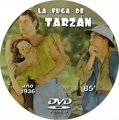 Tarzán III - La fuga de Tarzán - [1936]