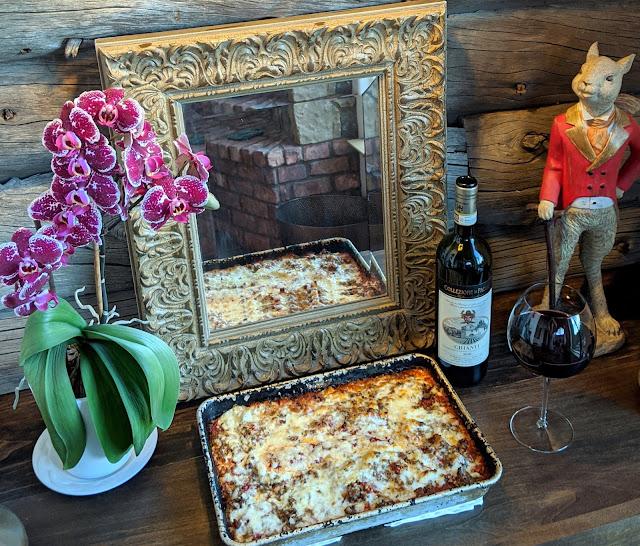 Lasagna for Christmas