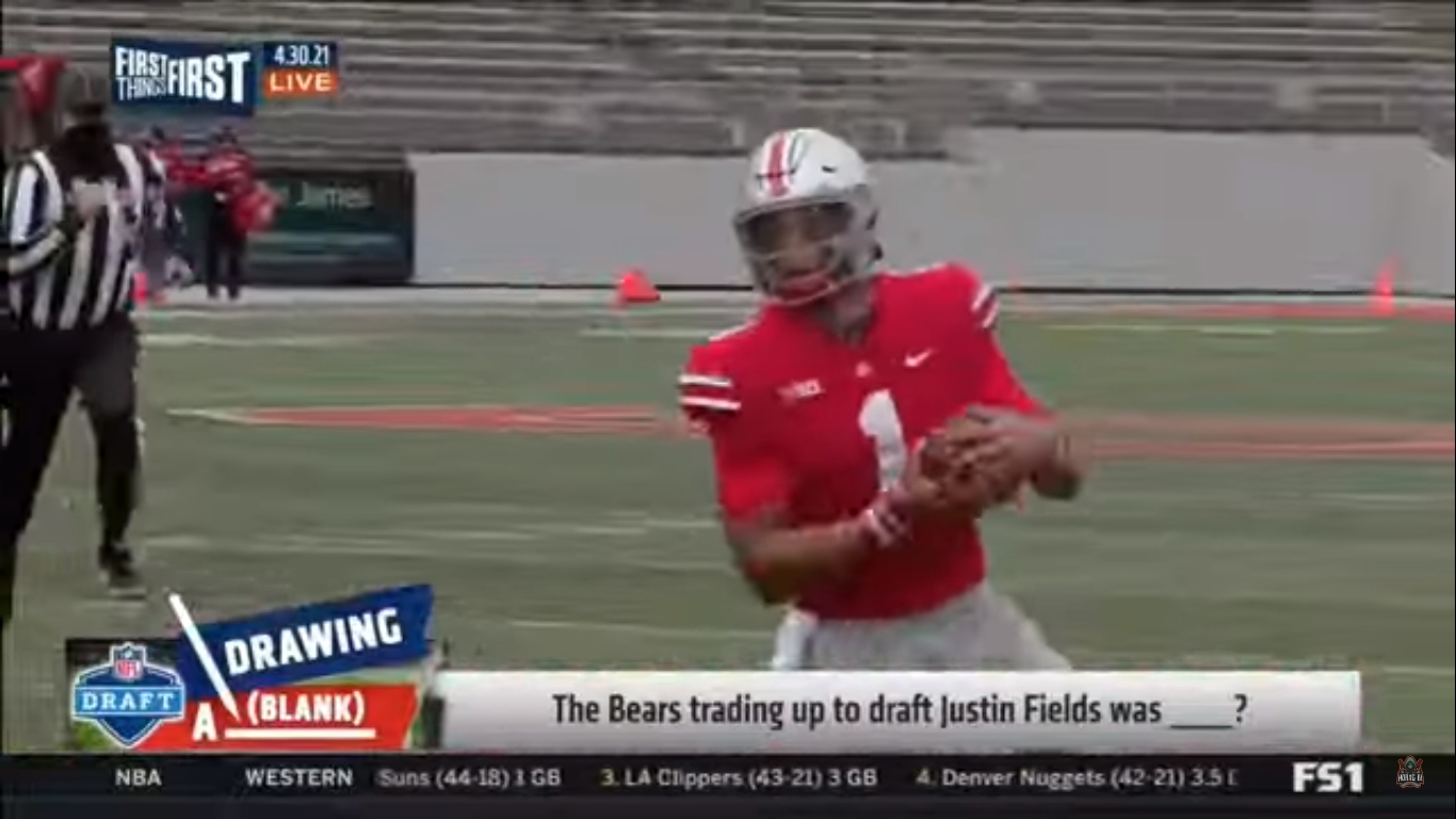 Player Profile Justin Fields