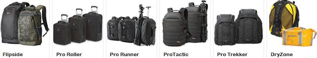 Tas Kamera DSLR untuk Peralatan Pro