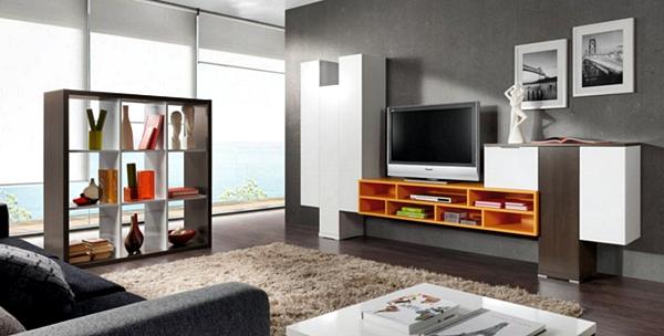 Kumpulan Desain Meja dan Rak TV Minimalis Terbaru Yang Elegan 010